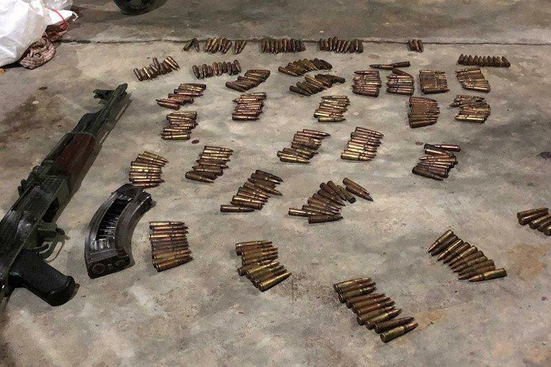 Polda Aceh sita senjata api dan ratusan peluru milik KKB Abu Razak