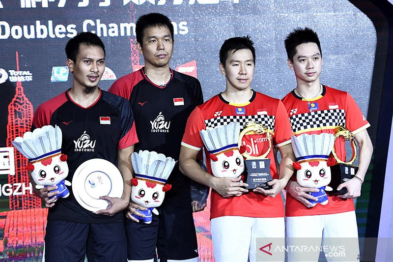 Indonesia sisakan Marcus/Kevin di Fuzhou China Open 2019