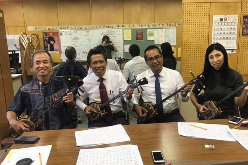 Delegasi ISI Denpasar promosikan budaya Bali ke Jepang