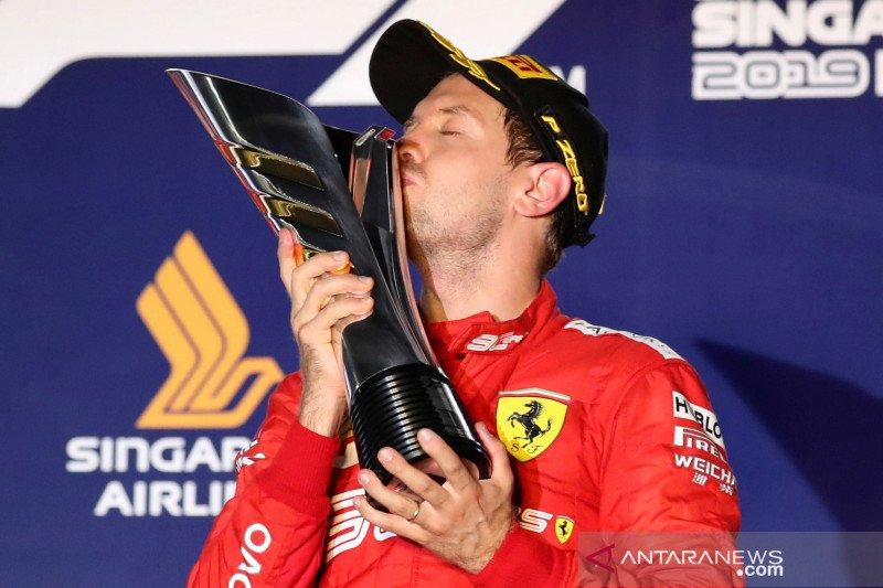 Sebastian Vettel buktikan dia masih mampu juara lagi
