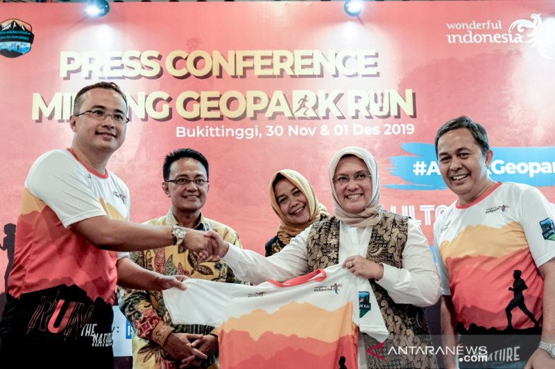 Minang Geopark Run pushes West Sumatra  to become a world class geopark