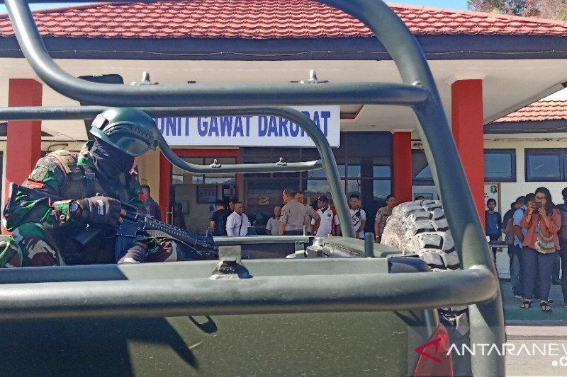 Papua Terkini - Satu prajurit TNI gugur diserang massa demo AMP