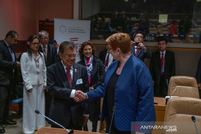 Wapres: Indonesia dukung inisiasi Aksi Iklim Berbasis Laut