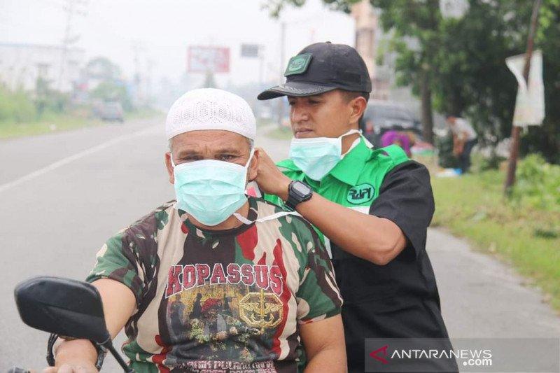 BPBD Bener Meriah dan RAFI bagikan 7.000 masker