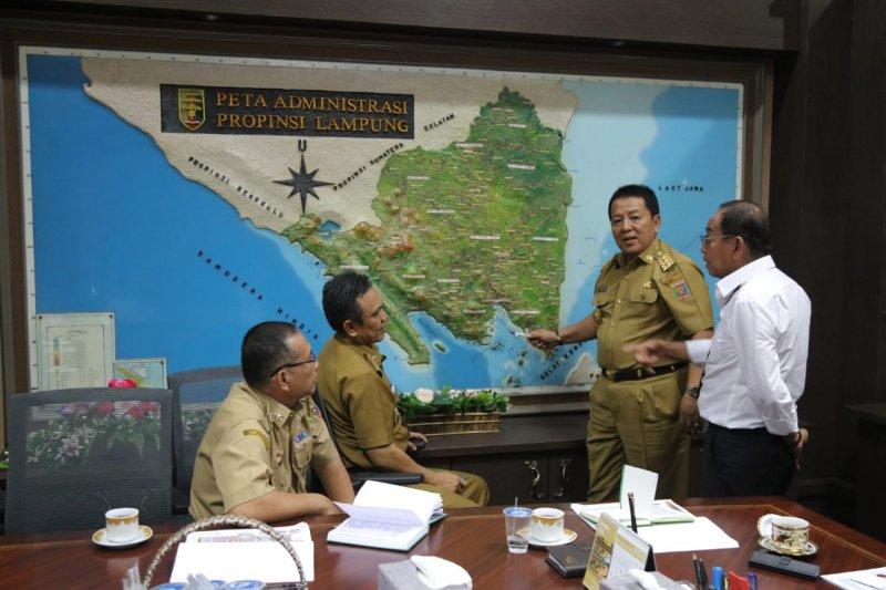 Gubernur Arinal minta jalan penghubung JTTS gunakan konsep estetis