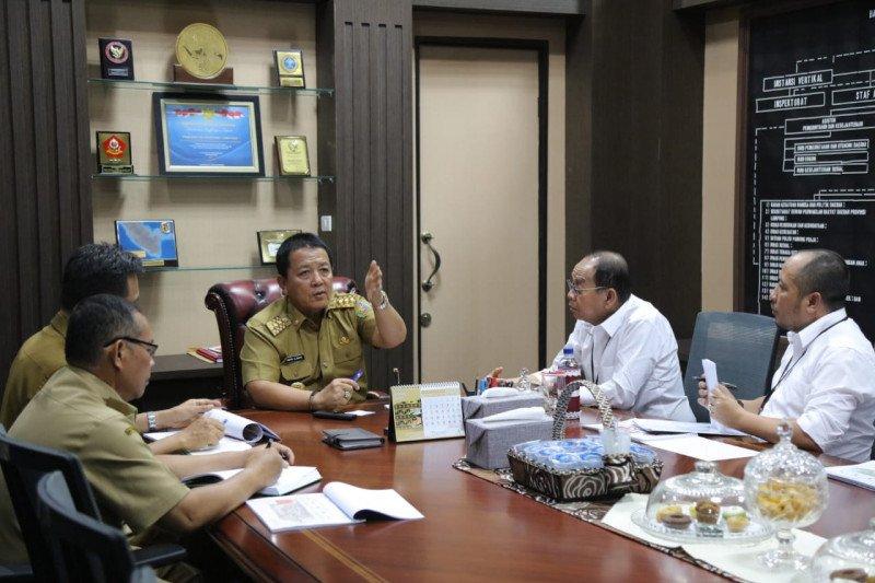 Gubernur Lampung minta jalan penghubung JTTS gunakan konsep estetika dan ekologis