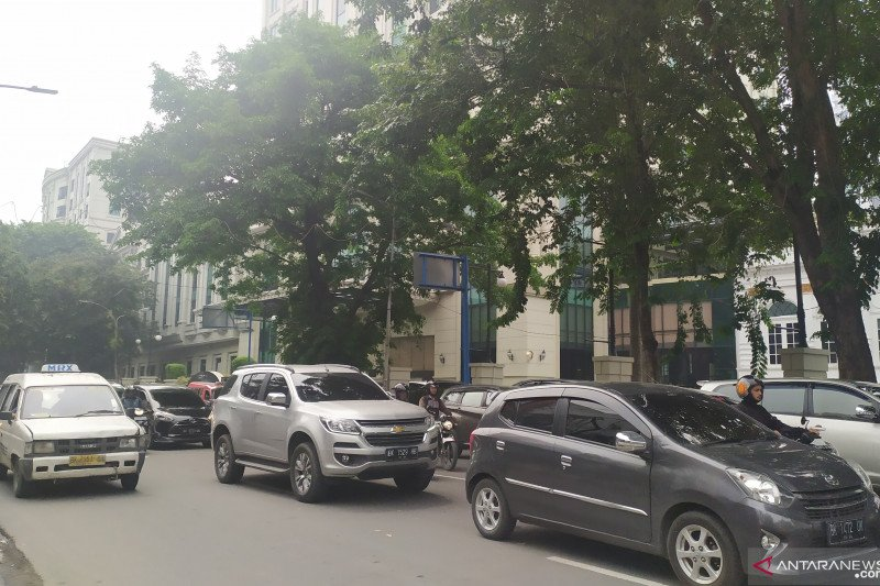 BMKG nilai udara Kota Medan tidak sehat akibat asap