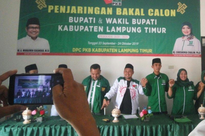 PKB  ajak putra putri terbaik Lampung Timur ikut pilkada