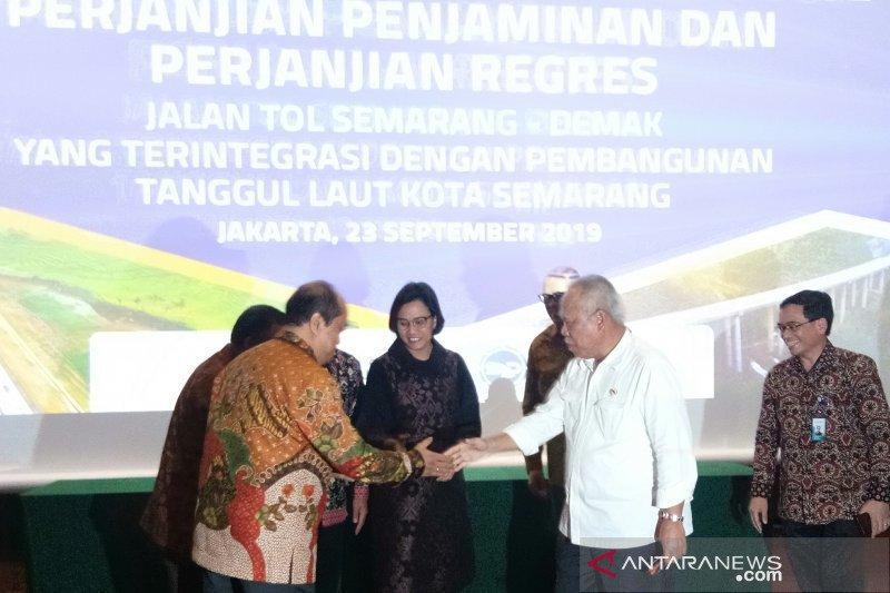 Pemerintah jamin pembangunan tol Semarang-Demak