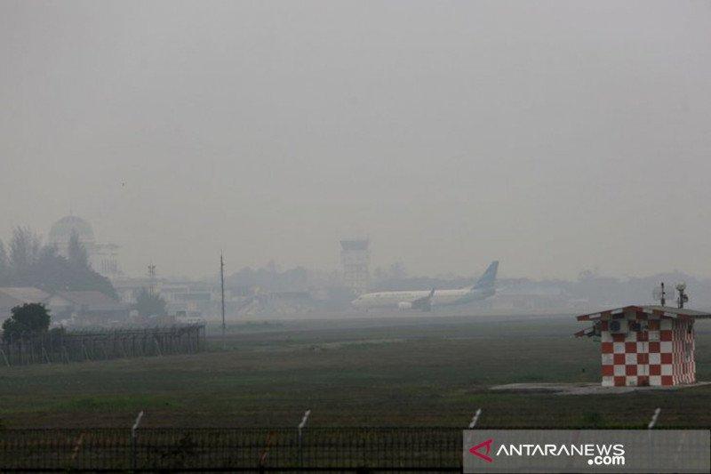 Kualitas udara di daerah terdampak asap masih sangat tidak sehat