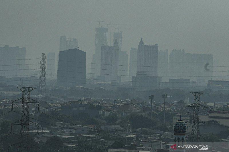 Kamis pagi, Jakarta tempati posisi ketiga udara terburuk sedunia