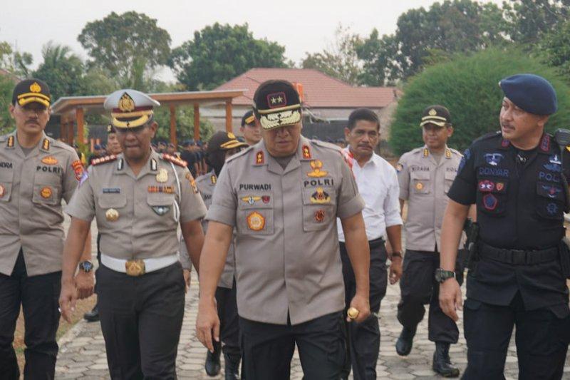 Polda Lampung kirim 551 personel Brimob amankan unjuk rasa di Jakarta