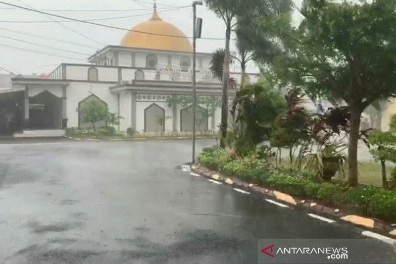 Sebagian Sumsel diguyur hujan