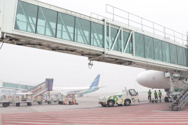 Penerbangan di Bandara Udara Kualanamu terganggu asap dari Riau