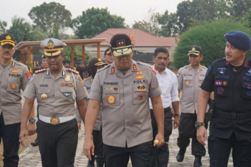 Polda Lampung kirim 551 personel Brimob ke Jakarta