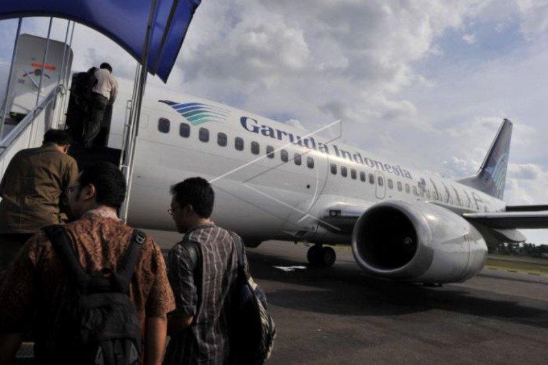 Karhutla Riau - Penerbangan di Bandara Pekanbaru kembali normal setelah asap berkurang