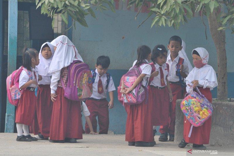 Kondisi udara di Palembang memburuk, siswa diliburkan