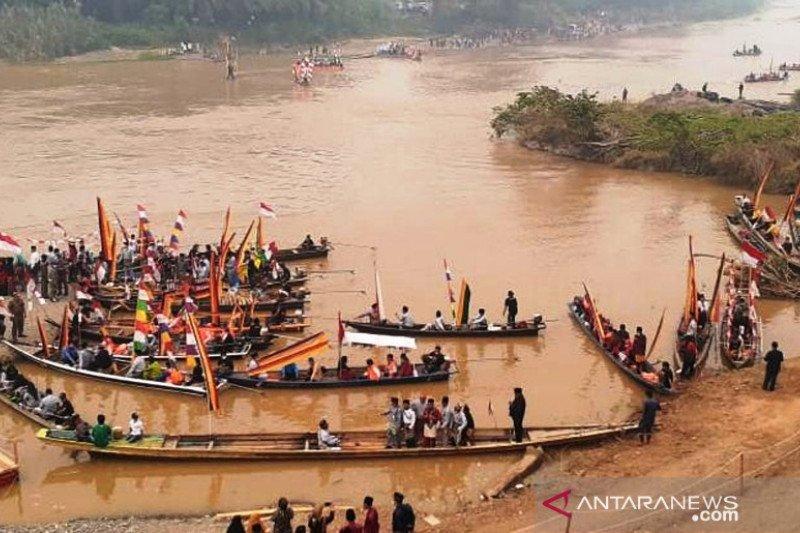 Setelah 52 tahun terhenti, peringatan Hari Kemaritiman Nasional digelar di Dharmasraya