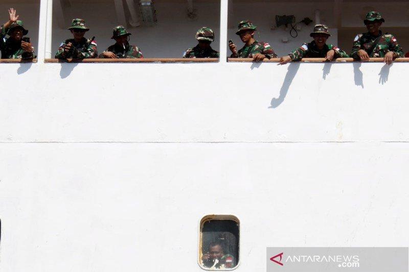 Pemberangkatan pasukan perdamaian PBB