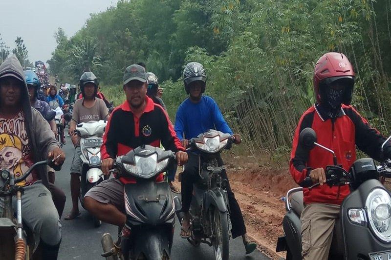 Petani Moro Moro turun ke jalan peringati Hari Tani 2019