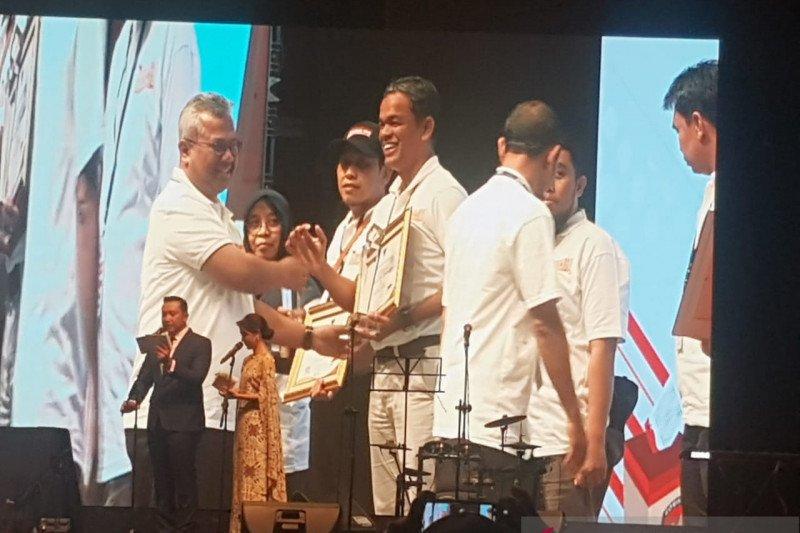 KPU NTB meraih penghargaan penyelenggara pilgub dan pemilu terbaik