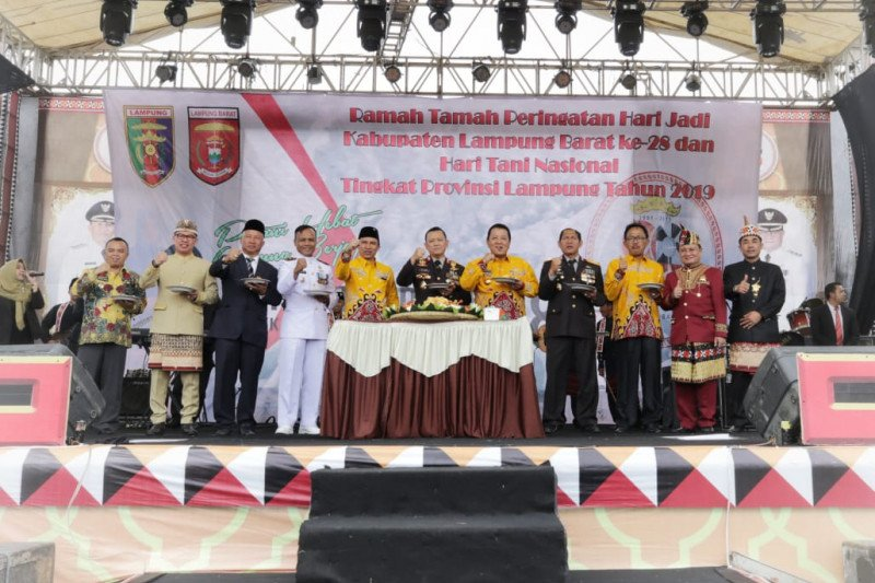 Gubernur Lampung sosialisasikan Kartu Petani Berjaya