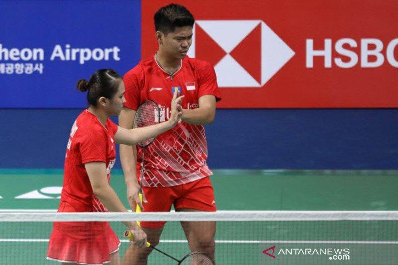 Praveen/Melati ke perempat final Denmark Open 2019 usai kalahkan Lu/Chen,