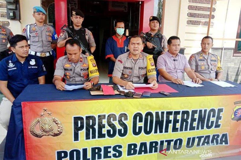 Pengelola kebun sawit ditangkap karena bakar lahan di Barito Utara