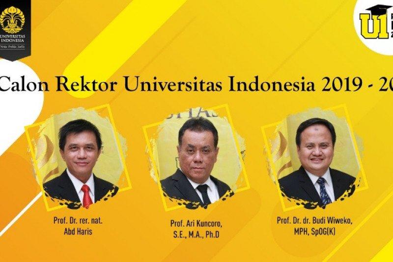 UI gelar debat publik tiga calon rektor