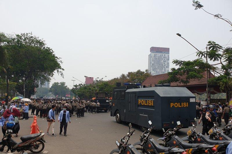 Walhi Sumsel kecam tindakan represi terhadap  aksi mahasiswa