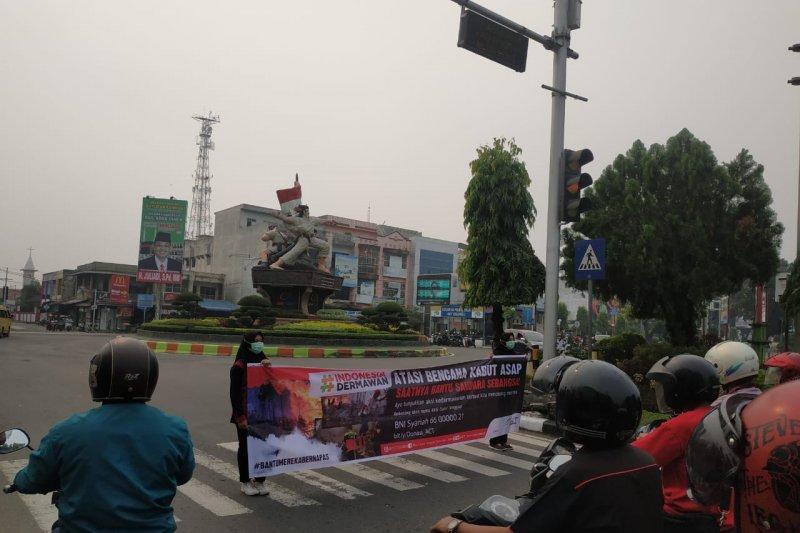 ACT galang dana untuk bencana asap Riau dan Kalimantan