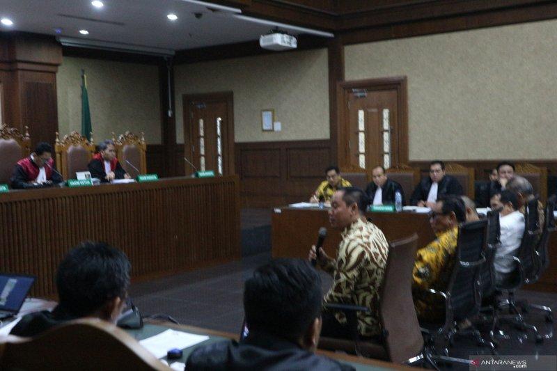 Saksi singgung nama Mendag Enggar dan pengusaha TW dalam sidang Bowo Sidik