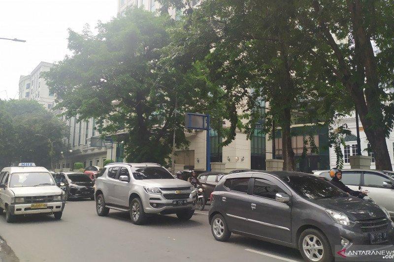 Setelah hujan, kualitas udara di Medan berstatus sedang