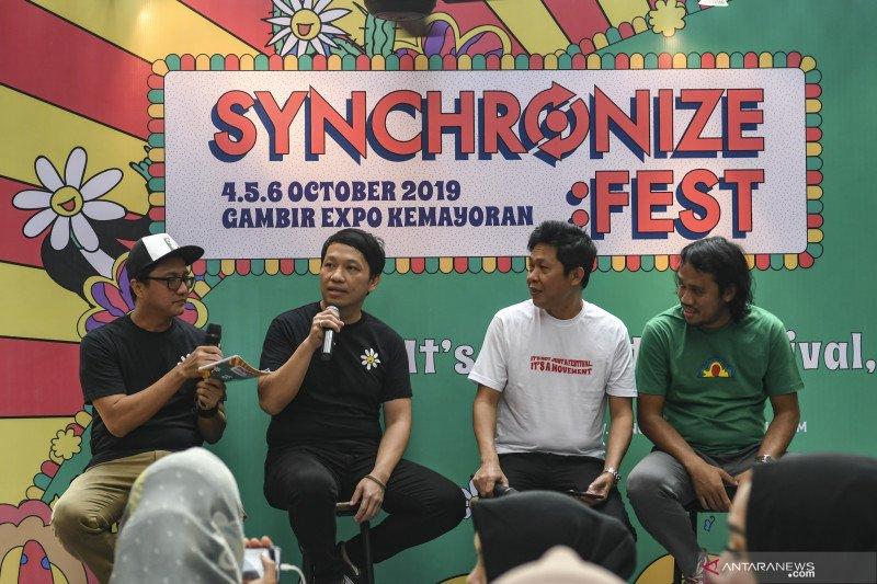 Synchronize Festival fasilitasi musik tradisional lewat Didi Kempot