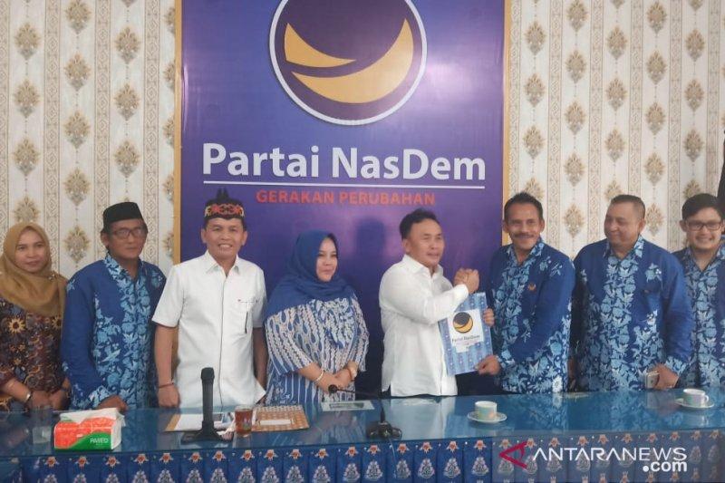 Sugianto Sabran mendaftar bacagub Kalteng ke Partai Nasdem