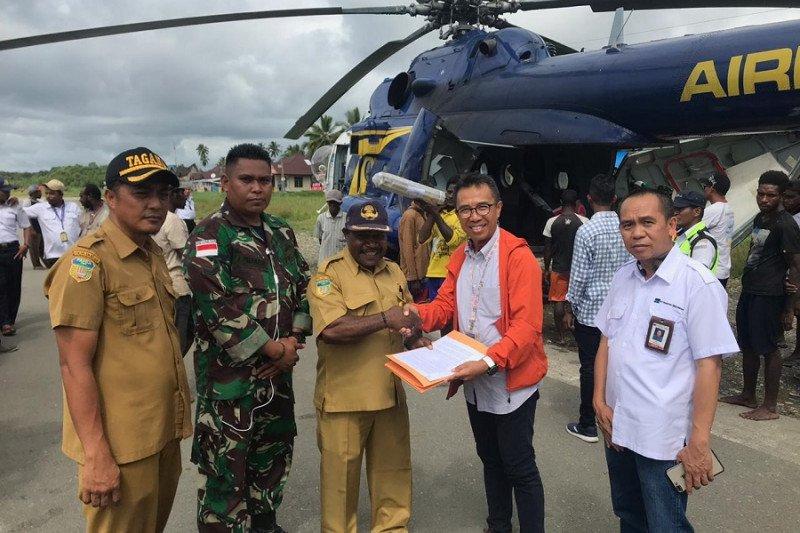 Freeport berikan bantuan kepada korban kebakaran di Agats