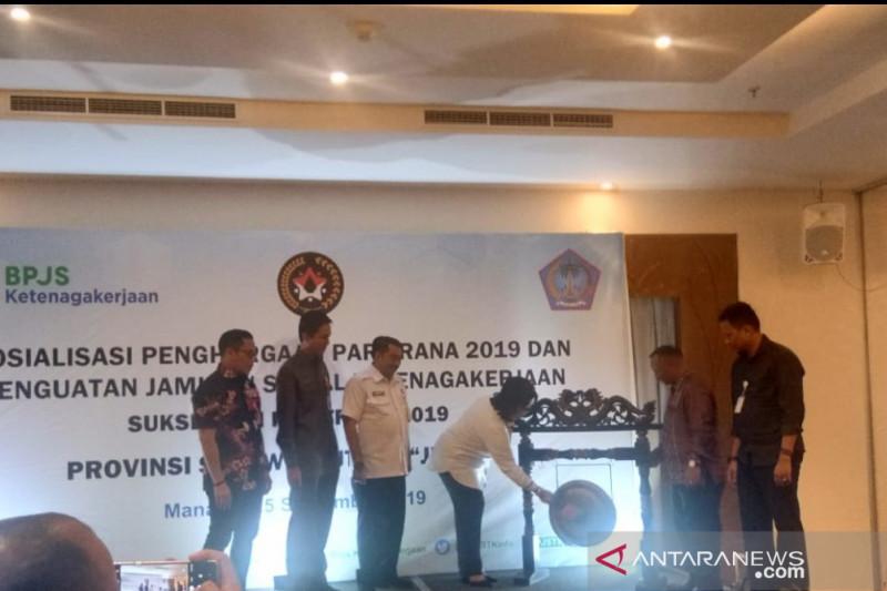 BPJSTK bersama Pemprov Sulut targetkan raih penghargaan Paritrana 2019