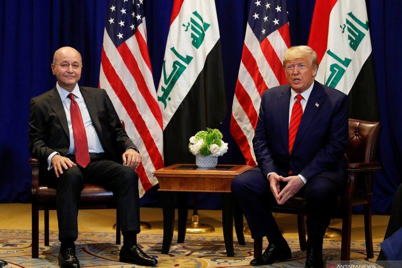Presiden Irak kecam penyerbuan Kedubes AS