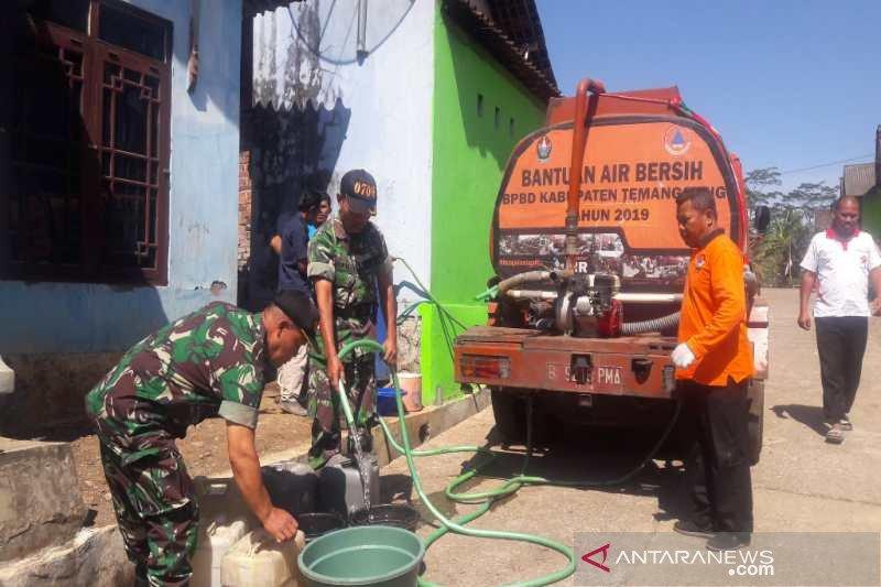 BPBD Temanggung siapkan 7 juta liter air bersih atasi kekeringan