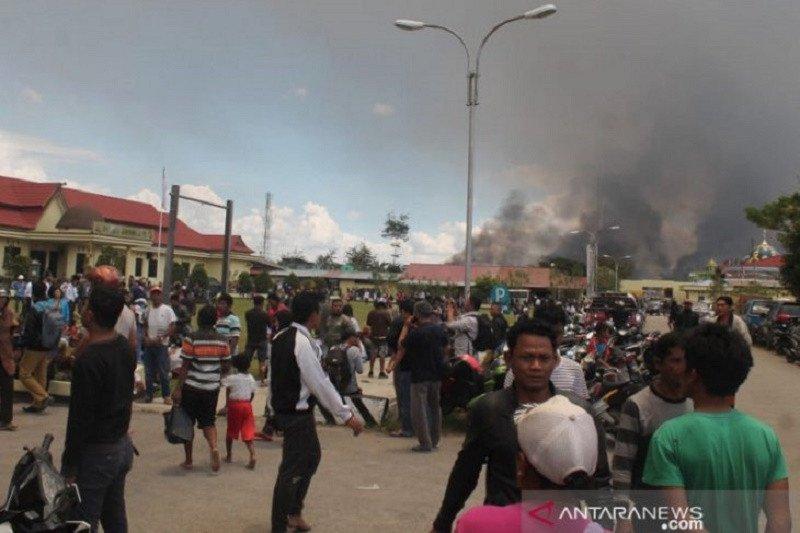 Aksi demonstrasi memanas, korban meninggal dunia di Papua sudah capai 23 orang