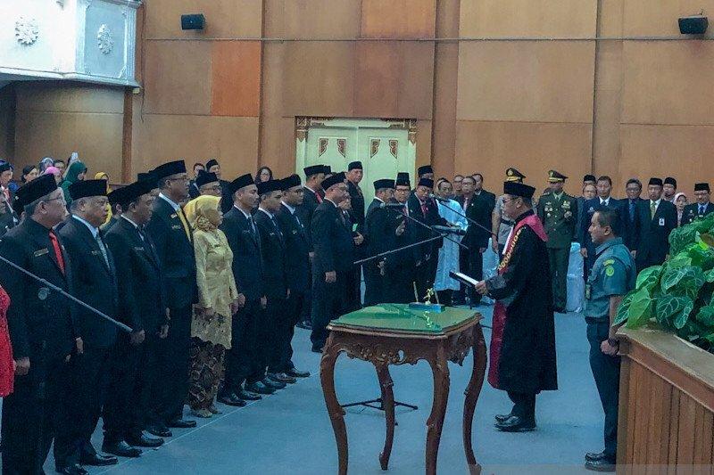 Pimpinan definitif DPRD Kota Yogyakarta dilantik awal Oktober 2019