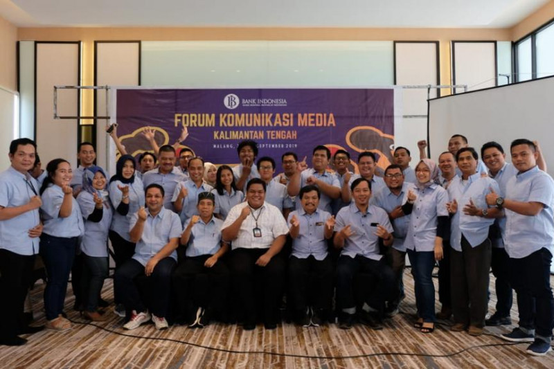 BI Kalteng komitmen bantu wartawan menyajikan berita ekonomi