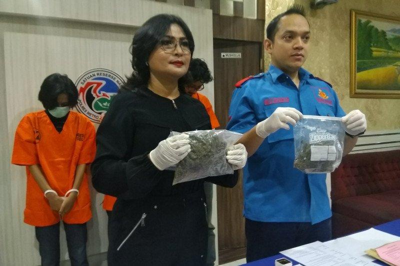 Polres Jaksel tangkap tiga mahasiswa pengedar narkoba