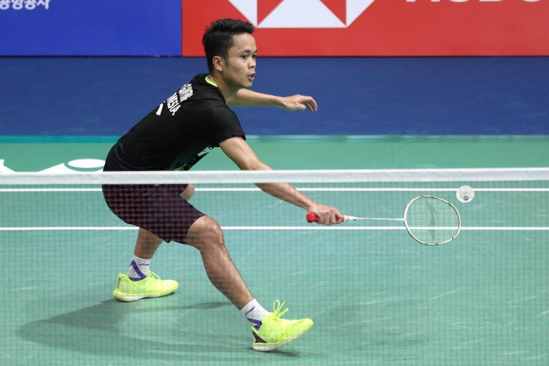 Anthony catat kemenangan pertama Grup B World Tour Finals