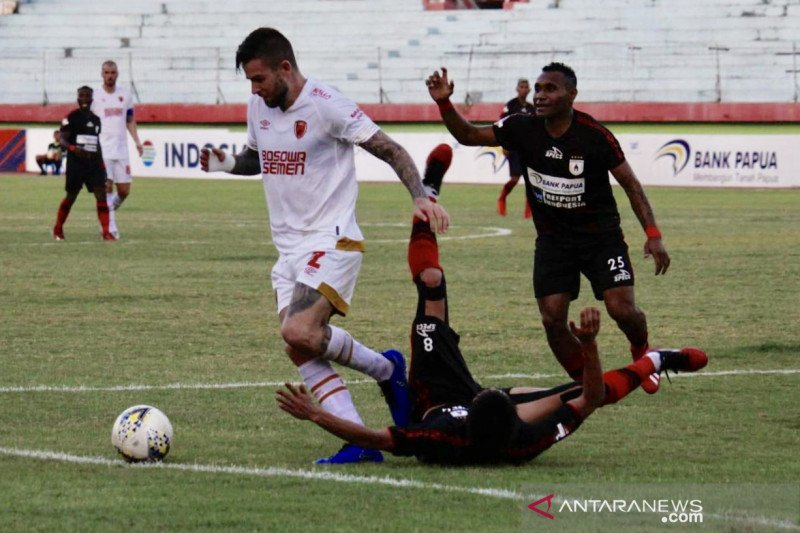 Persipura menang 3-1 atas PSM Makassar di Liga 1