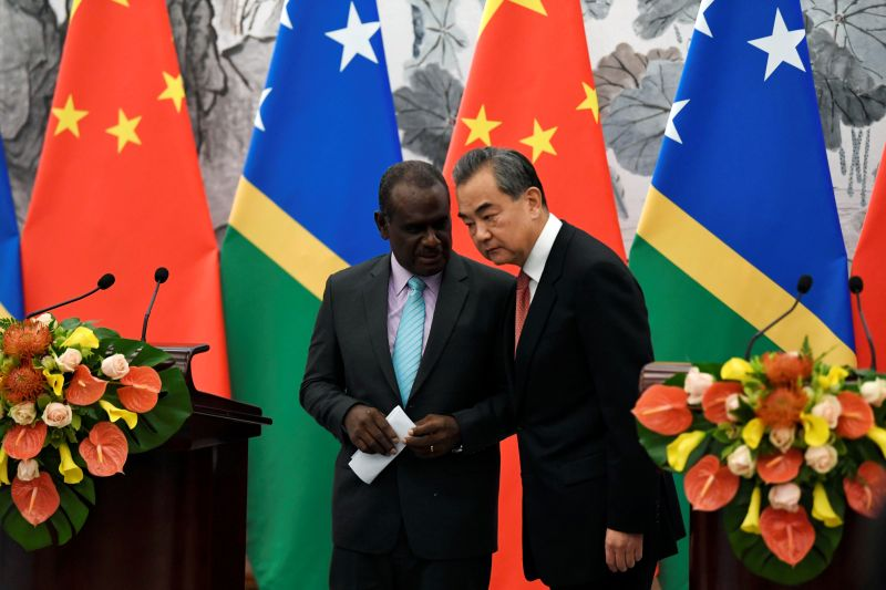 China-Solomon teken kerja sama dalam hubungan diplomatik baru
