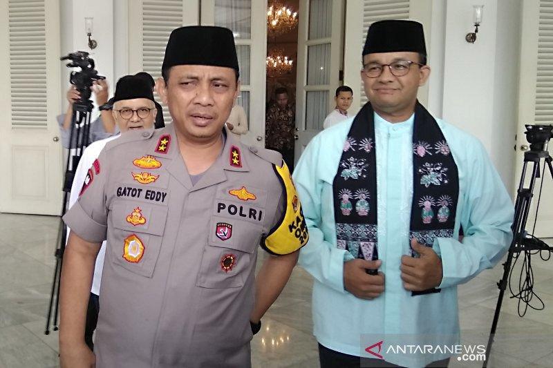 Kapolda Metro Jaya bertemu Gubernur Anies update keamanan Jakarta