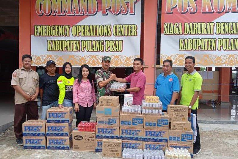 Koordinator Masyarakat Peduli Karhutla beri apresiasi satgas karhutla Pulpis