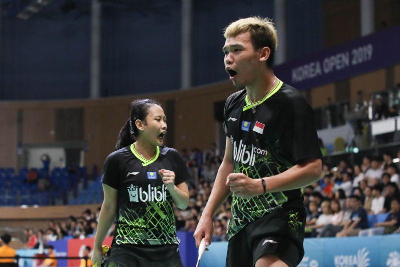 Ganda campuran Rinov/Pitha ke perempat final Korea Open