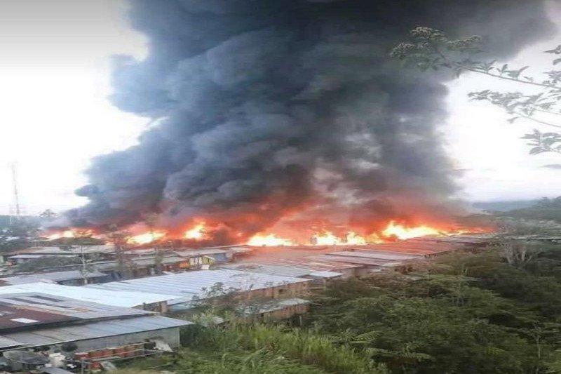 Polisi sudah ketahui identitas pembakar rumah dan ruko di Oksibil